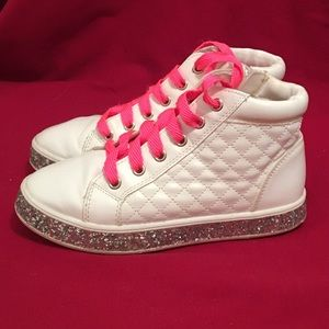 Justice Sneakers - girls size 2
